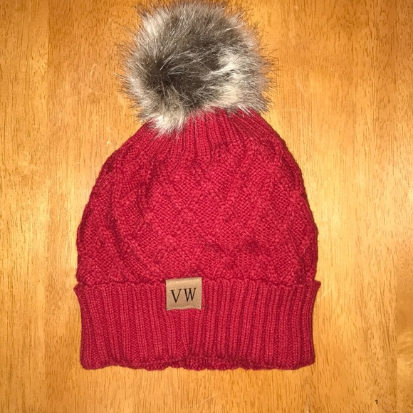 d6081cb1a69 Accessories - VW Pom Pom Winter Hat